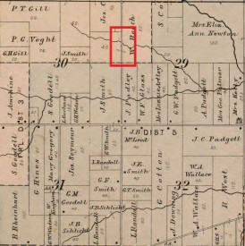 1891 Map of Canton