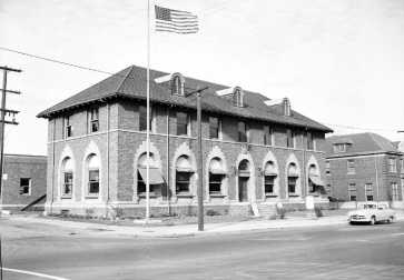 The 6th precinct police station in the 1930's.