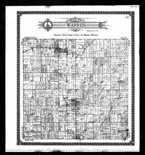 Warren, MI 1916 Map